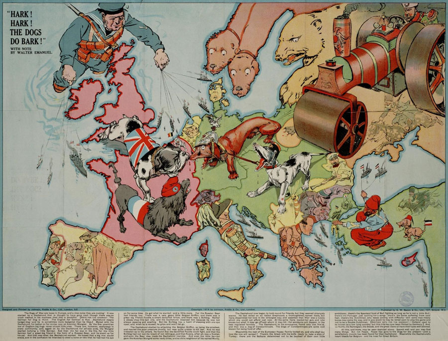 the onset of the european nations imperialistic activities